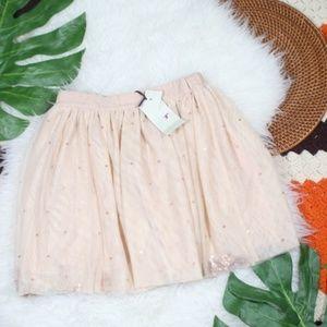 Stella Mccartney Kids Pink Sparkle Tulle Skirt NEW